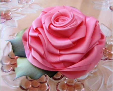 Hair Accessories, Pink Rose