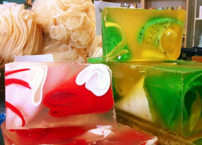 No animal fat, vegetable oil-based soaps