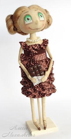 handmade doll, Alesya Mihailevich