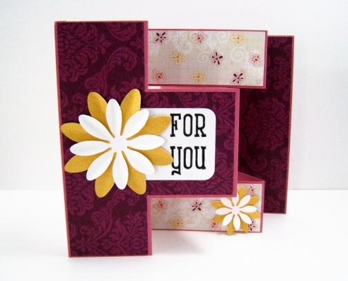 Handmade Card - For You, by Fairy Cardmaker.