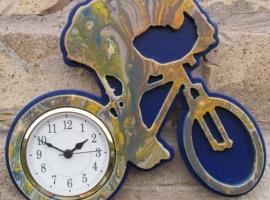 wall clock mountain bike