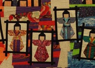 Alaska quilts.