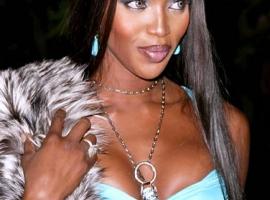 Model Naomi Campbell