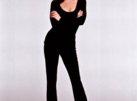 Catherine Zeta Jones in black.