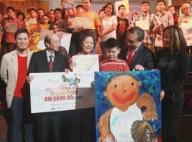 Art competition for the physically challenged and slow learners