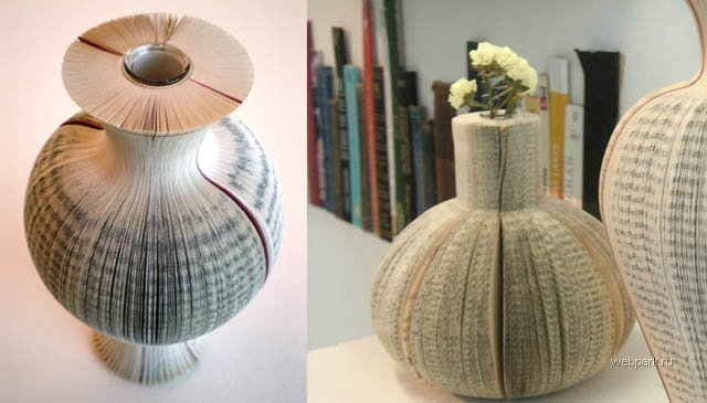 Vases from Books.