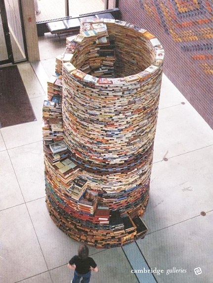 Book Tower by Tom Bendtsen.