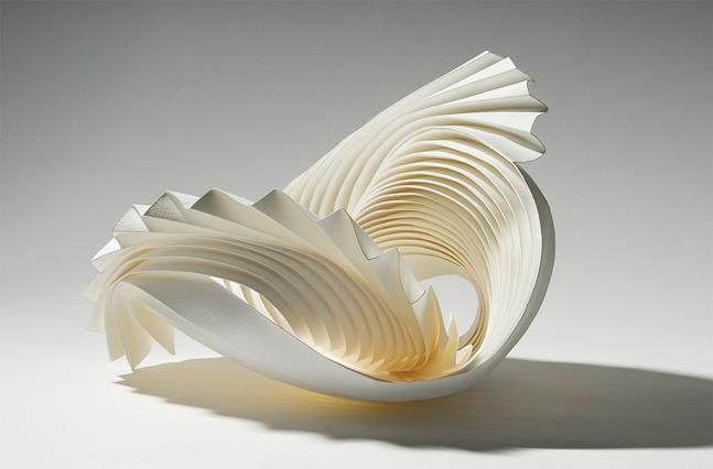 Vortex, paper folding.