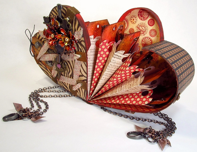 10 Things I Love About You Heart Box by the Gentleman Crafter!