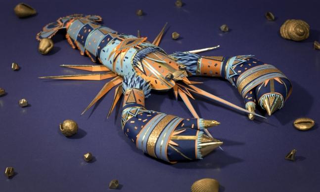Paper Lobster.
