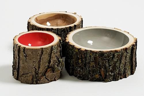 Log Bowls.