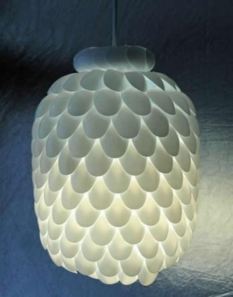 Spoon Lamp.