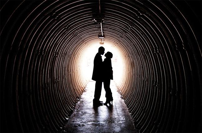 Tunnel shadow