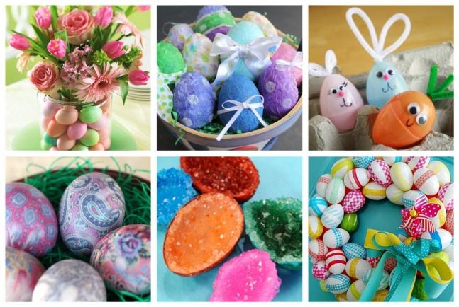 Easter Egg Crafts.