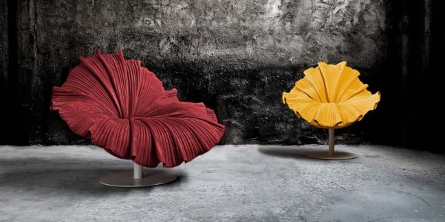 Flower Armchairs.
