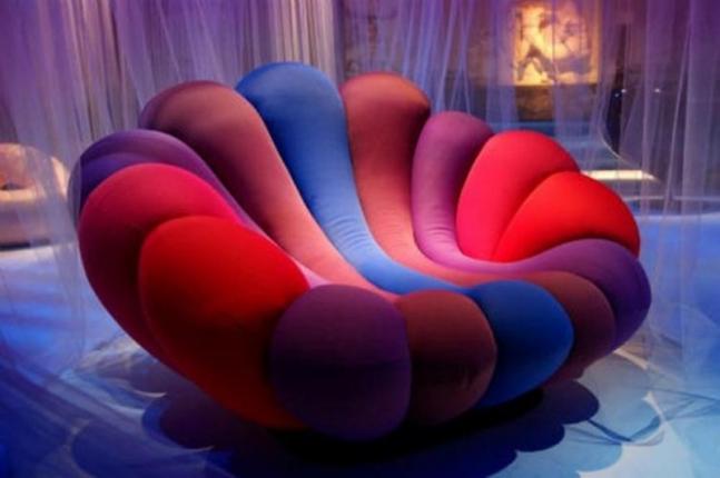 Flower Armchair.