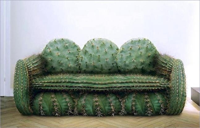 Cactus sofa.