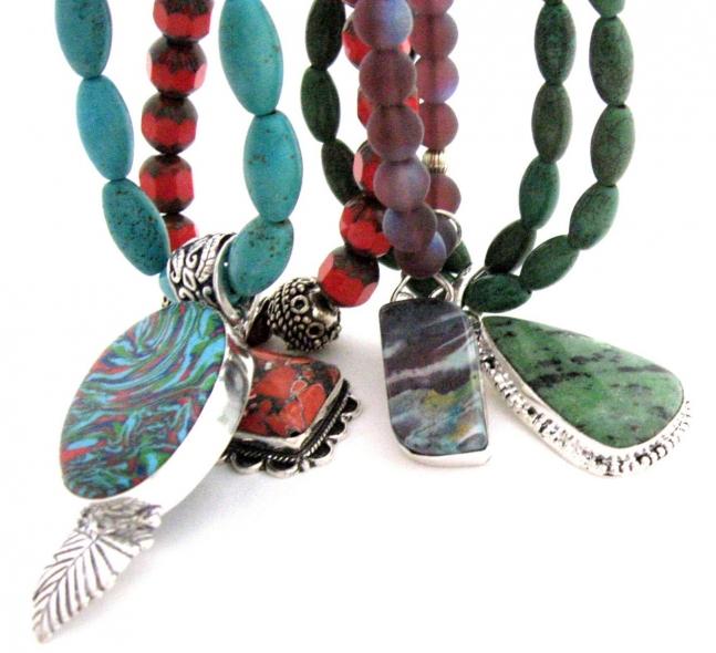 beaded jewelry from GalleriaLinda