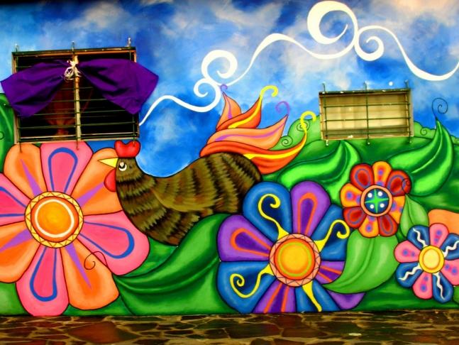 Ataco murals, El Salvador.
