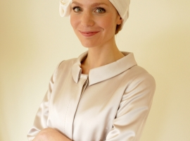 Suburban Turban bridal headwear for hair loss range, 2014