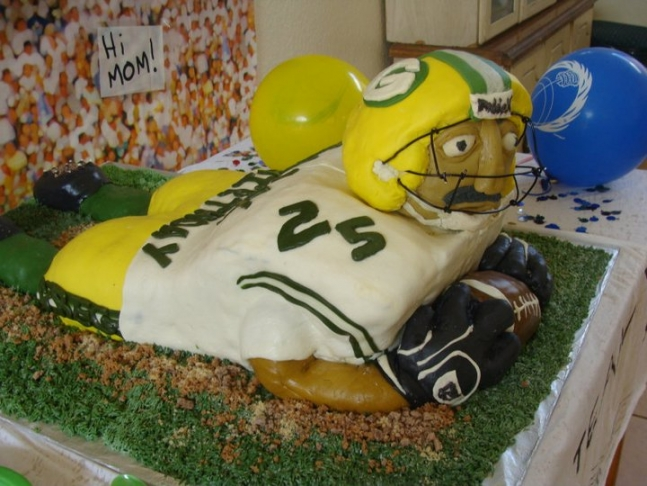 Shimae's football birthday cake