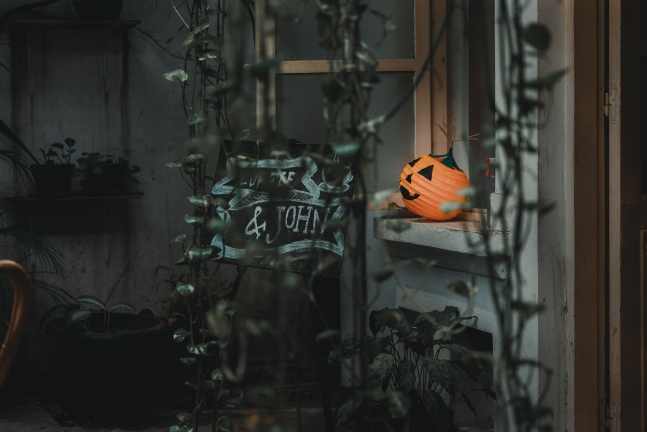 halloween home decor - pumpkin
