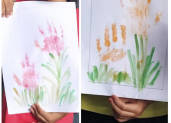 Hand Painting Activity for Kids