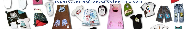 Joey & Aleethea is a super cutesie boutique for baby boys, baby girls, and their peeps!