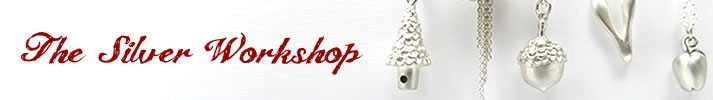 Handmade Silver Jewellery: Charms, Necklaces, Bracelets, Rings and Earrings