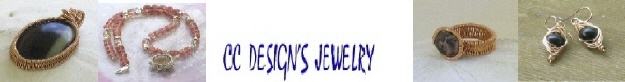 Artisan wire- wrapped and beaded jewelry for all occasions