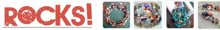Rockin' Goddess Adornment - Unusual gemstone necklaces, earrings and bracelets