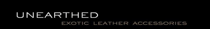 Exotic Leather Accessories