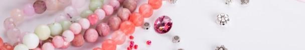 Handmade pendants, bracelets, and earrings