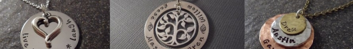 Handmade Handstamped Jewelry and Accessories