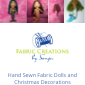 Hand Sewn Dolls and Christmas Decorations