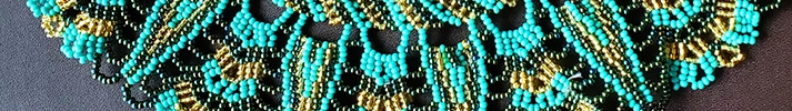 Indigenous Handcraft, Mayan Style Beaded Jewelry