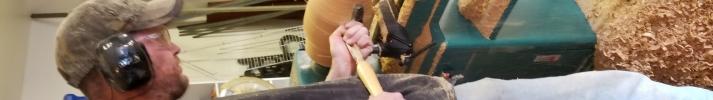 Hand turned wood