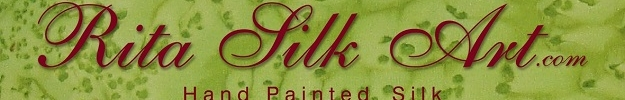 Silk Art on scarfs and clothing